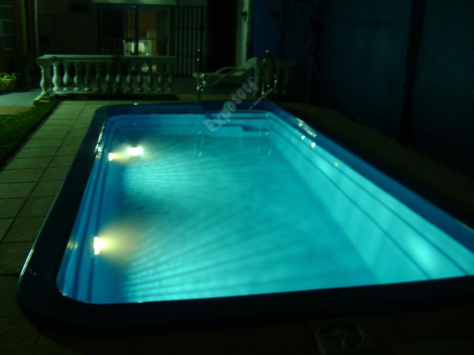 Pileta650conluzblanca promociones y precios de piletas - Luces led piscina ...